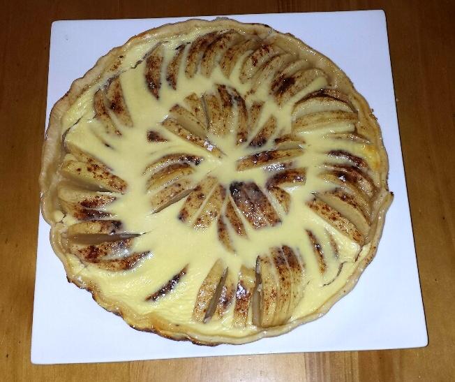 Recettes Tarte Aux Pommes: Tarte Aux Pommes (recette Alsacienne