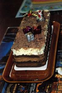 bûche trois chocolats 1