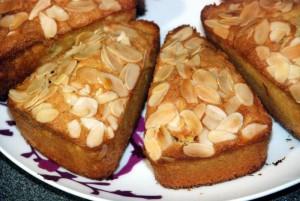 cakes aux amandes 2