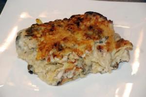 lasagnes poulet champignons 2