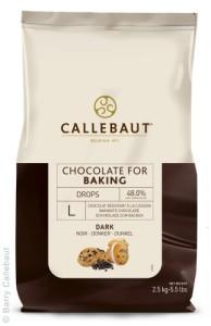 pépites chocolat noir Callebaut